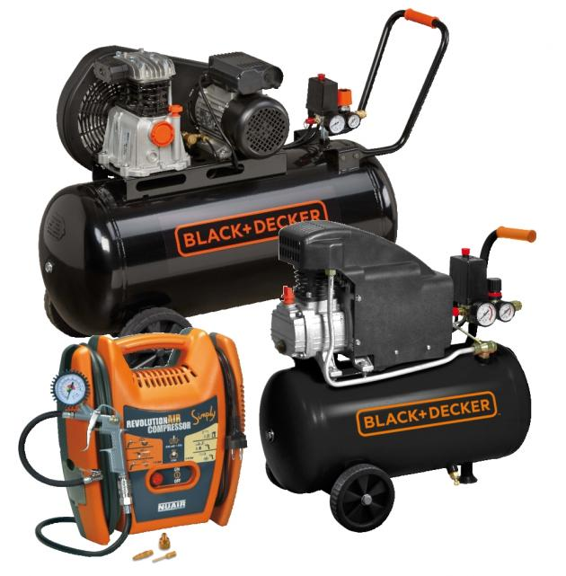 BLACK+DECKER kompresszorok
